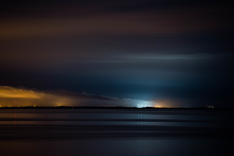 Offshore storms delay the launch of the nineteenth batch of starlink satellites.