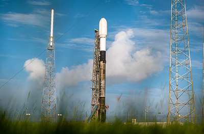 SpaceX's second Transporter mission is scheduled to lift off at 2:56pm EDT carrying 88 spacecraft on a southerly trajectory from Cape Canaveral Space Force Station.