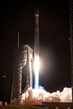 Atlas V 401 lifts off with the Lucy spacecraft at 5:34am EDT on October 16th, 2021.