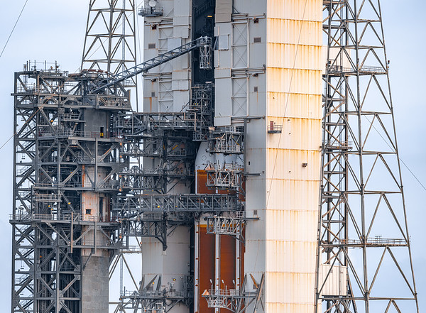 399.8 megapixel panorama of the Delta IV Heavy nestled inside the Mobile Service Tower ~15 hours before liftoff of the NROL-44 mission for the National Reconnaissance OFfice.