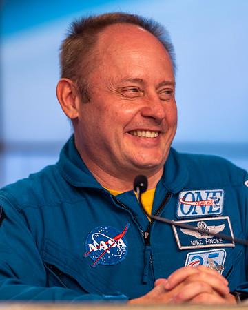NASA/Boeing CFT Astronaut Col. Mike Fincke
