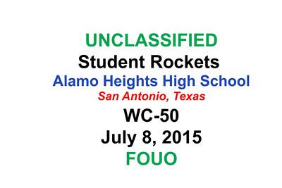 WSMR2015 Alamo Heights