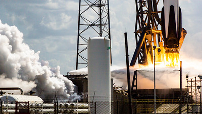 Falcon 9 Lifts GPSIII Space Vehicle 3