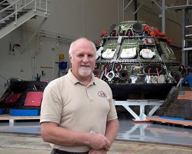 Orion Capsule Post Flight Return Jan 2015