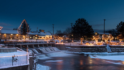 Rockford Dam - Winter
