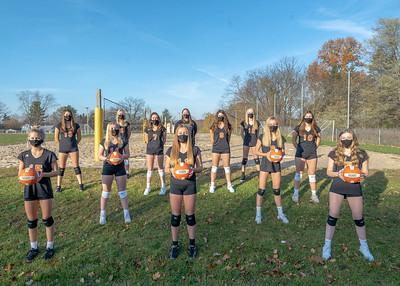 Freshmen Volleyball 2020-2220