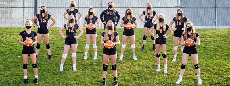 Freshmen Volleyball 2020-2309