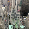 View of St. Patrick's Cathedral from our suite