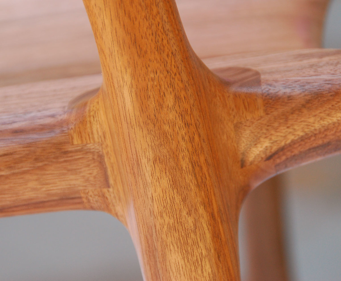 Front Leg and Seat Joint