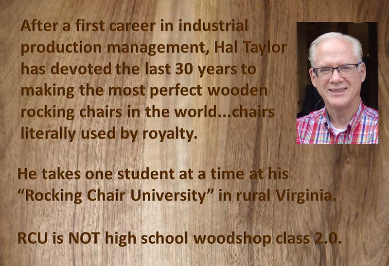 Hal Taylor, Rocking Chair University