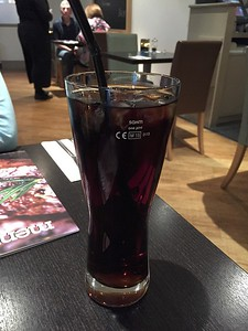 This Diet Coke, without refills, was $6 U.S.
