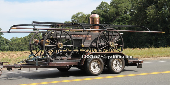 14-Antique Steam Pumper