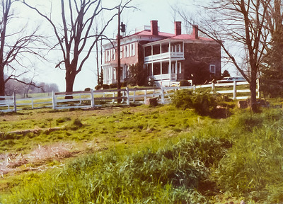 Rocklands Farm Main house 1980