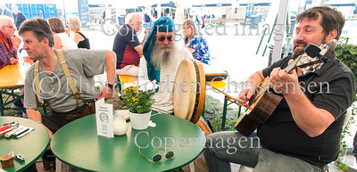 Musikere på Cafe, Tønder Festival 2016