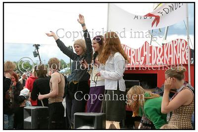 Diverse atmosphere Roskilde Festival 2004