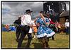 Roskilde Festival 2005, Festival goers, dancing, drinking beer