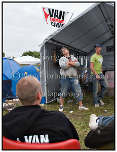 Diverse atmosphere Roskilde Festival 2007
