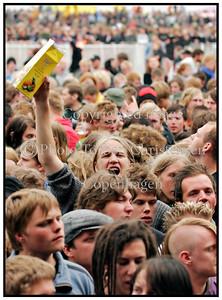 In Flames Roskilde Festival 2007