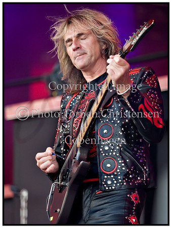 Roskilde Festival 2008, Judas Priest, Glenn Tipton