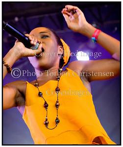 Queen Ifrica Roskilde Festival 2008
