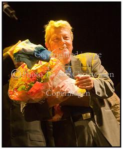 Wili Jønsson med prisen Ken Gudman mindekoncert 2008