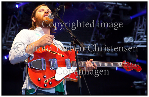 Roskilde Festival 2009, Fleet Foxes Robin Pecknold