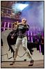 Fredagsrock i Tivoli fredag 18. september 2009.  Infernal med  Lina Rafn og Paw Lagermann spiller på plænen i Tivoli til den sidste fredagsrock koncert 2009. <br /> -----------     <br /> Friday Rock in Tivoli Friday, September 18, 2009.  Infernal with Lina Rafn and Paw Lagermann playing on the lawn in Tivoli during the last Friday rock concert 2009. <br />  Photo: © Torben Christensen ©  København