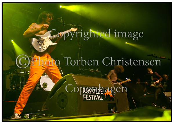 Roskilde Festival 2010, Simon Neil, Scottish Biffy Clyro