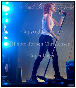 Hayley Williams Paramore Roskilde festival 2010