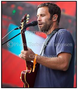 Jack Johnson Roskilde festival 2010