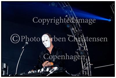 Mike Snow Roskilde festival 2010