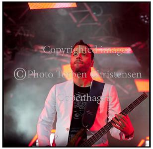Muse Roskilde Festival 2010