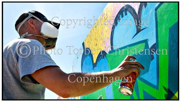 Roskilde Festival 2011, Festivalgoers, Atmosphere,  Graffiti