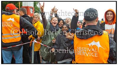 Opening day Roskilde Festival 2011