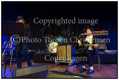 Steen Jørgensen og Sune Wagner  P6 Beat Rocker Koncerthuset 2013