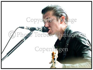 Alex Turner Arctic Monkeys Roskilde Festival 2014