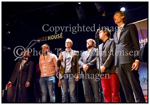 Jazzhouse, Dreamers Circus, Folkeklubben, Arne Würgler / Sine Bach Rüttel / Nils Tuxen, Folk  Factory, Umti Orkestar, Denmark Rigsspillemaend and DMA Allstars led by Kristian Bugge
