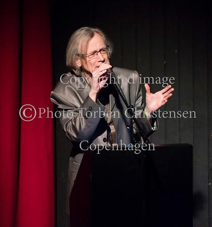 Årets Steppeulv prisuddeling i Bremen teater 28. Januar 2017. Aftenens vært TS Høeg Photo © Torben  Christensen @ Copenhagen