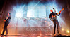 Det engelske indie popband The XX på scenen i Forum fredag 10 februar 2017. Romy Madley Croft  - Vokal og guitar, Oliver Sim - Vokal og Bas,  Jamie Smith alias Jamie xx - Keyboard   Photo © Torben  Christensen @ Copenhagen