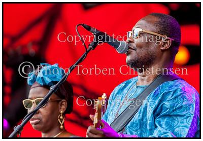 Amadou og Miriam, Roskilde Festival 2012