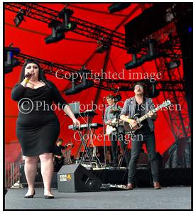 Gossip, Beth Ditto, Roskilde Festival 2012.