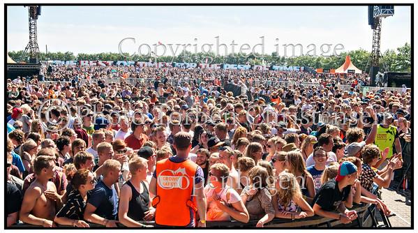Roskilde Festival 2012, Magtens Korridorer, Festival goers, Audience