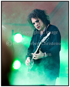 The Cure med Robert Smith, Roskilde Festival 2012.