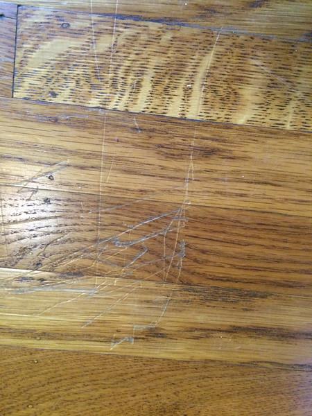 back bedroom damage