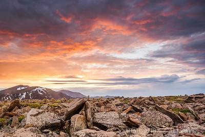 Sunrise Looking East From Rock Cut Trail