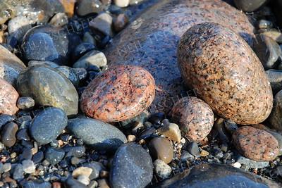 #634  Seashore stones at Acadia National Park, Maine.