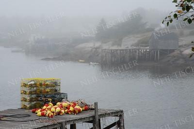 #518  Foggy Corea Harbor, Maine
