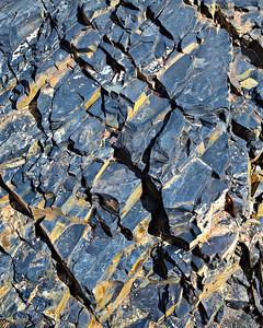 Fractured Precambrian shale Stone Creek