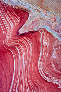 The Wave - detail - soft sediment loading Coyote Buttes North