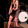 Ana Popovic and her band perform at the historic Lincoln Theater in downtown Mt. Vernon, Washington on Thursday, February 2014.